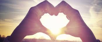 hart met zon